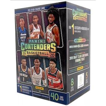 2019/20 Panini Contenders Basketball 5-Pack Blaster Box