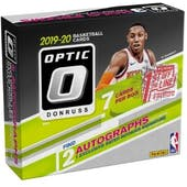 2019/20 Panini Donruss Optic 1st Off The Line Premium Edition Basketball Hobby Box