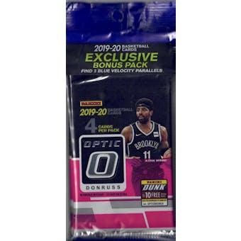 2019/20 Panini Donruss Optic Basketball Multi/Cello Pack
