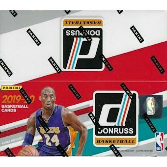 2019/20 Panini Donruss Basketball 24-Pack Box