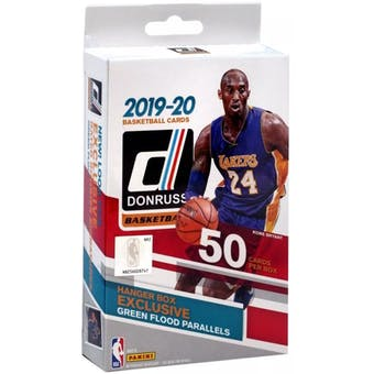 2019/20 Panini Donruss Basketball Hanger Box