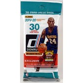 2019/20 Panini Donruss Basketball Jumbo Fat Pack