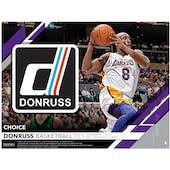 2019/20 Panini Donruss Choice Basketball Hobby Box (Presell)