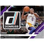 2019/20 Panini Donruss Choice Basketball Hobby 20-Box Case (Presell)