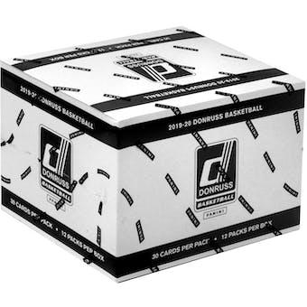 2019/20 Panini Donruss Basketball Jumbo Fat Pack Box (12 Ct.)