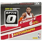 2019/20 Panini Donruss Optic Choice Basketball Hobby 20-Box Case (Presell)