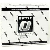 2019/20 Panini Donruss Optic Basketball Multi/Cello Box (12 Ct.)