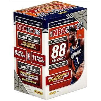 2019/20 Panini Hoops Basketball 11-Pack Blaster Box