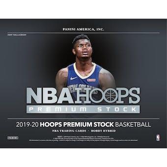 2019/20 Panini Hoops Premium Stock Basketball Hobby Box (Presell)