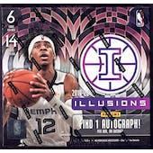 2019/20 Panini Illusions Basketball Hobby Box