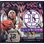 2019/20 Panini Illusions Basketball Hobby Box