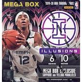 2019/20 Panini Illusions Basketball Mega Box