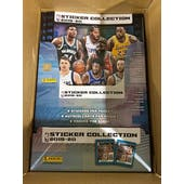 2019/20 Panini NBA Basketball Sticker Collection 75-Pack Box (PLUS 25 FREE ALBUMS!)