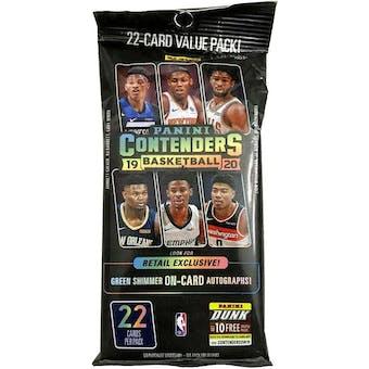 2019/20 Panini Contenders Basketball Jumbo Fat Pack