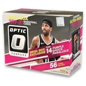 2019/20 Panini Donruss Optic Mega Basketball 56-Card Box