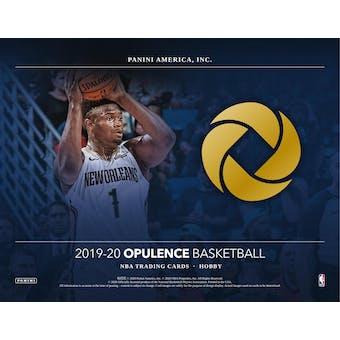 2019/20 Panini Opulence Basketball 1-Box- DACW Live 30 Spot Random Team Break #1