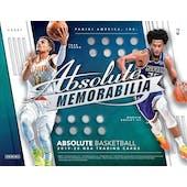 2019/20 Panini Absolute Memorabilia Basketball Hobby 10-Box Case (Presell)