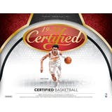 2019/20 Panini Certified Basketball Hobby 12-Box Case (Presell)
