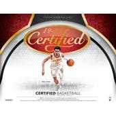 2019/20 Panini Certified Basketball Hobby 12-Box Case (Presell)