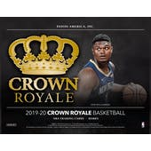 2019/20 Panini Crown Royale Basketball Hobby 16-Box Case (Presell)