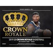 2019/20 Panini Crown Royale Basketball Hobby Box (Presell)