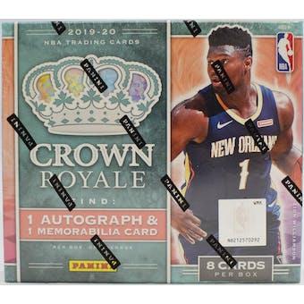 2019/20 Panini Crown Royale Basketball Hobby Box