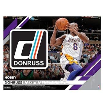 2019/20 Panini Donruss Basketball 5-Box- DACW Live 30 Spot Random Team Break #1