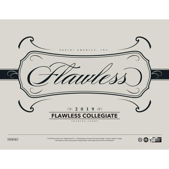 2019/20 Panini Flawless Collegiate Basketball 2-Box Case DACW Live 30 Spot Random Team Break #1