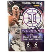 2019/20 Panini Illusions Basketball 6-Pack Blaster Box