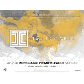 2019/20 Panini Impeccable Soccer Hobby 3-Box Case (Presell)