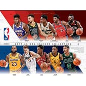 2019/20 Panini NBA Basketball Sticker Collection Album