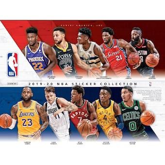 2019/20 Panini NBA Basketball Sticker Collection Box