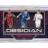 2019/20 Panini Obsidian Soccer Hobby 12-Box Case (Presell)
