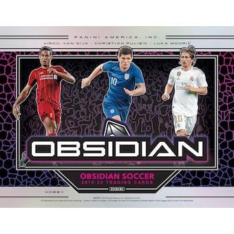 2019/20 Panini Obsidian Soccer Tmall Edition Box