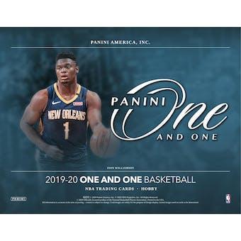 2019/20 Panini One and One Basketball 3-Box- DACW Live 6 Spot Random Divison #1