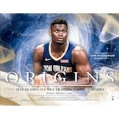 2019/20 Panini Origins Basketball Hobby 12-Box Case (Presell)