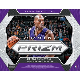 2019/20 Panini Prizm Basketball Hobby Case- DACW Live 30 Spot Random Team #1