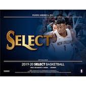 2019/20 Panini Select Basketball Hobby 12-Box Case (Presell)