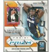 2019/20 Panini Prizm Basketball Mega Box (50 Ct.)
