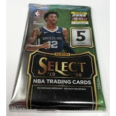 2019/20 Panini Select Basketball Hobby Pack