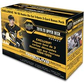 2019/20 Upper Deck Series 1 Hockey Mega Box