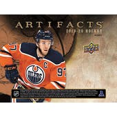2019/20 Upper Deck Artifacts Hockey Hobby Box (Presell)