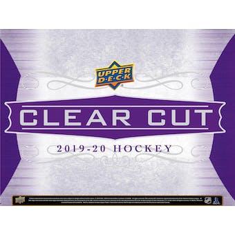 2019/20 Upper Deck Clear Cut Hockey Hobby Box (Presell)