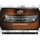 2019/20 Upper Deck Engrained Hockey Hobby 5-Box Case (Presell)