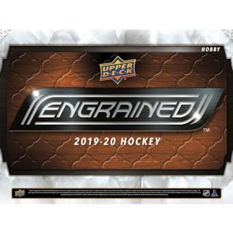2019/20 Upper Deck Engrained Hockey 5-Box Case- DACW Live 31 Team Random Break #2