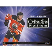 2019/20 Upper Deck O-Pee-Chee Platinum Hockey Hobby 16-Box Case (Presell)