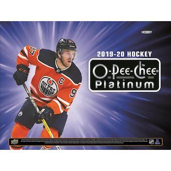 2019/20 Upper Deck O-Pee-Chee Platinum Hockey Hobby Box (Presell)