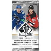 2019/20 Upper Deck SP Authentic Hockey Hobby Pack