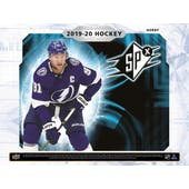 2019/20 Upper Deck SPx Hockey Hobby 10-Box Case (Presell)
