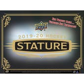 2019/20 Upper Deck Stature Hockey Hobby 12-Box Case (Presell)